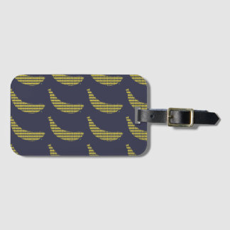 Identifier of suitcases Banana Luggage Tag