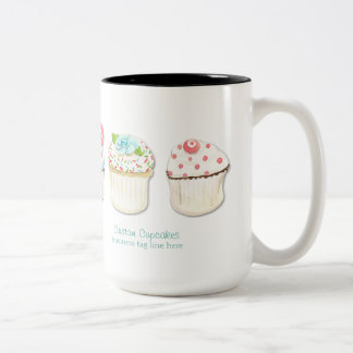 Identité d'affaires de boulangerie de cuisson de d tasse à café