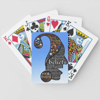identity bicycle playing cards