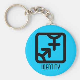 Identity : Both Light Keychain
