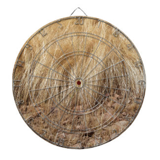 iDetail of a teff field during harvest Dartboard