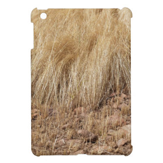 iDetail of a teff field during harvest iPad Mini Cover