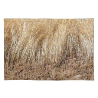 iDetail of a teff field during harvest Placemat