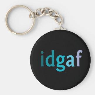IDGAF About Keys Keychain