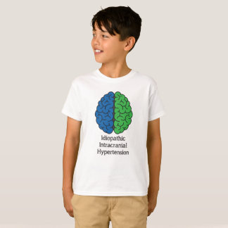 Idiopathic Intracranial Hypertension Brain T-Shirt