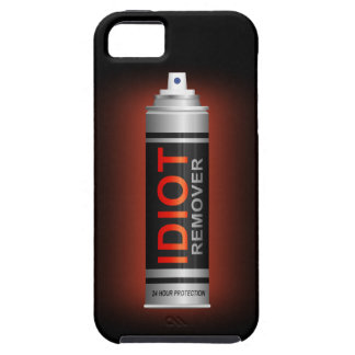 Idiot remover. iPhone 5 cover