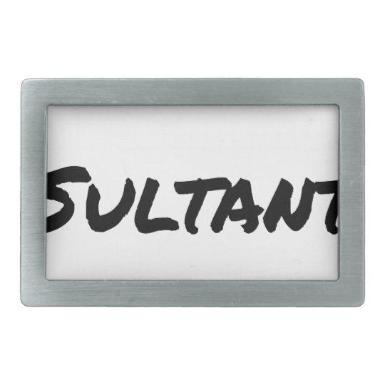 IDIOT SULTANT - Word games - François City Belt Buckles