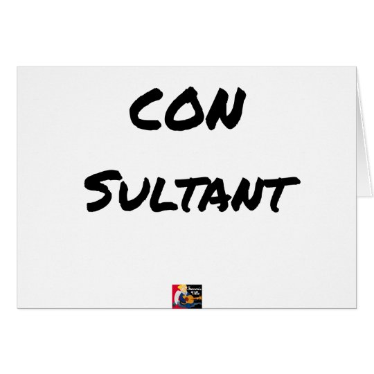 IDIOT SULTANT - Word games - François City Card