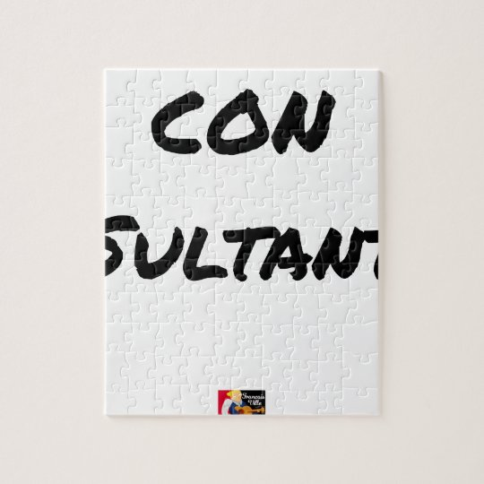 IDIOT SULTANT - Word games - François City Jigsaw Puzzle