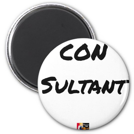 IDIOT SULTANT - Word games - François City Magnet