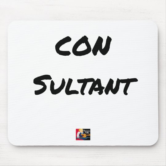 IDIOT SULTANT - Word games - François City Mouse Pad