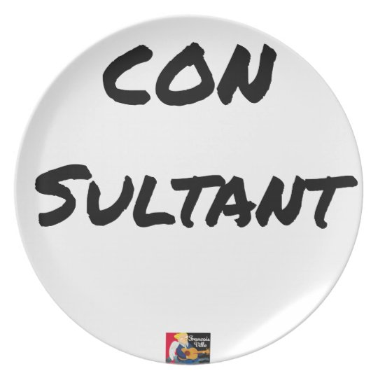 IDIOT SULTANT - Word games - François City Plate