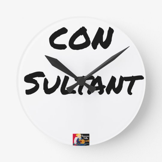 IDIOT SULTANT - Word games - François City Round Clock