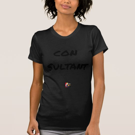 IDIOT SULTANT - Word games - François City T-Shirt