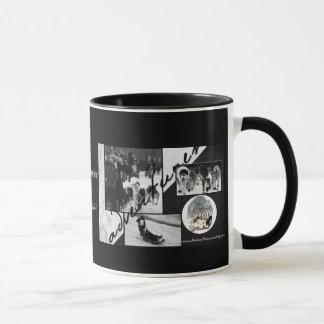 Iditarod Black & White Mug