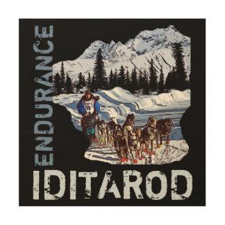 IDITAROD WOOD WALL DECOR