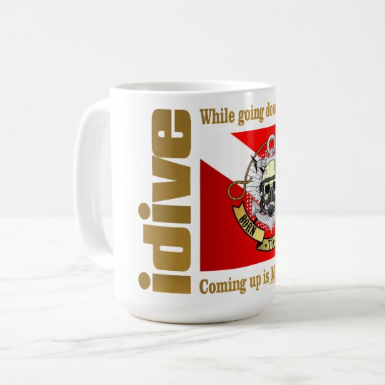idive (Going Down Is Optional) Coffee Mug