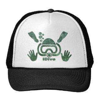 iDive Moss Scuba Original Trucker Hat