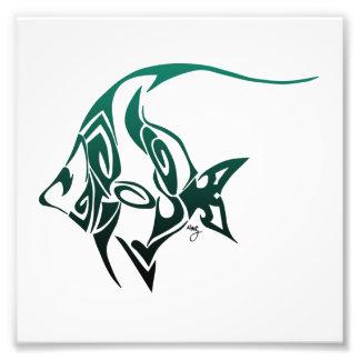 Idol Fish Print