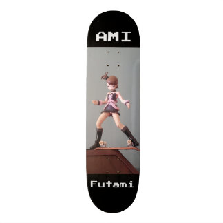 IDOLM@STER: AMI FUTAMI CUSTOM SKATE BOARD