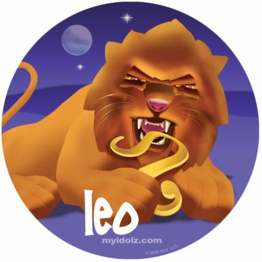 Idolz Leo Pin Photo Cutout