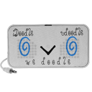 iDoodle udoodle we doodle Laptop Speakers