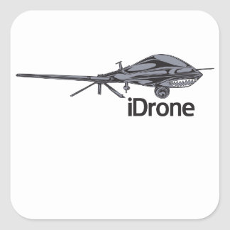 iDrone surveillance sticker