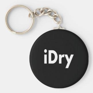 iDry Basic Round Button Keychain
