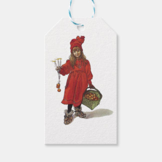 Iduna and The Magic Apples is a vintage illustrati Pack Of Gift Tags