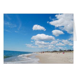 Idyllic Beach Card