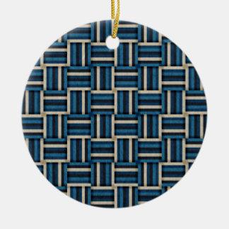 Idyllic Beach Ceramic Ornament