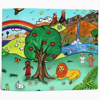 Idyllic Children's Landscape -- Paradise Binder