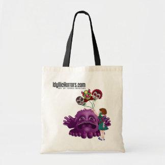 Idyllic Horrors Tote Tote Bags