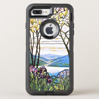 Idyllic Landscape Tiffany Stained Glass OtterBox Defender iPhone 7 Plus Case