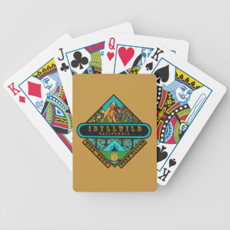 IDYLLWILD CALIFORNIA BICYCLE PLAYING CARDS