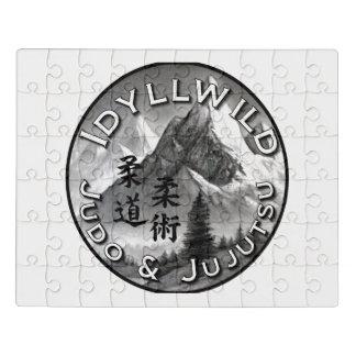 Idyllwild Judo and Jujutsu Club Logo Puzzle