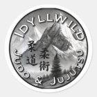 Idyllwild Judo and Jujutsu Round Sticker