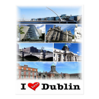IE Ireland - Dublin - Postcard