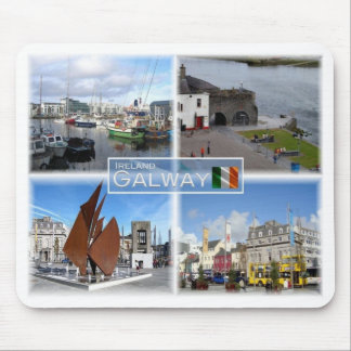 IE Ireland - Galway - Mouse Pad