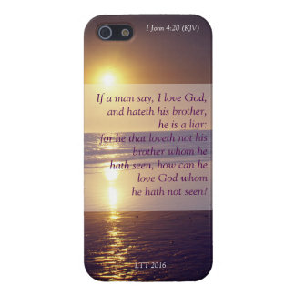 If a man say, I love God, and hateth 1John 4:20 iPhone 5/5S Cover