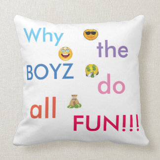 if any girl is angry from a boy or to give a gift. throw pillow