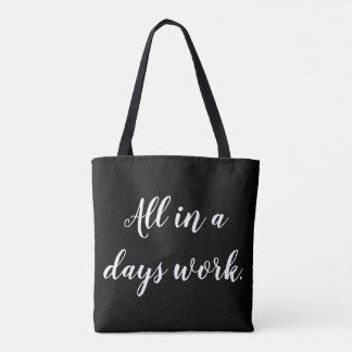 If at first you don't succeed...coaching tote bag