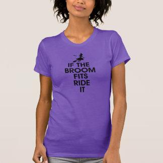 if broom fits ride it T-Shirt