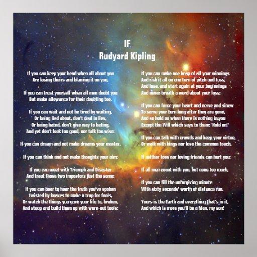 If by Rudyard Kipling Posters