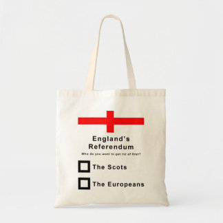 If England Had a Referendum Funny Tote Bag