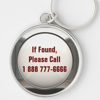 If Found, Call... Keychain