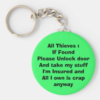 If Found Keychain