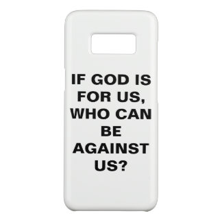 """If God Is For Us..."" Samsung Galaxy S8 Case"