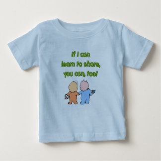 If I can learn to share, you can, too! Shirts