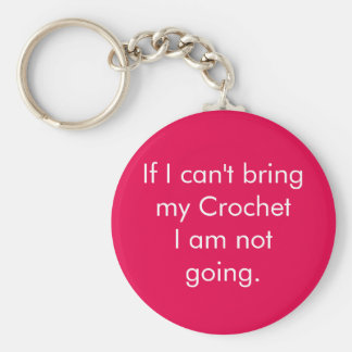 If I can't bring my crochet... Keychain